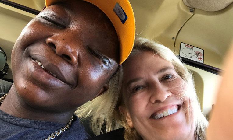Sampson and Greta Van Susterin after successful surgery at the Mayo Clinic. (Credit: Samaritan's Purse)