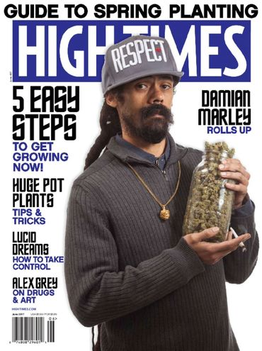 Damian Marley, son of reggae legend Bob Marley and a new investor in the publication, was a recent High Times cover subject.