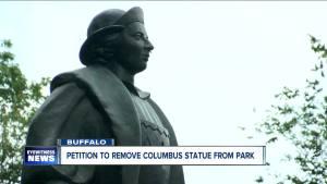 Buffalo's Columbus statue
