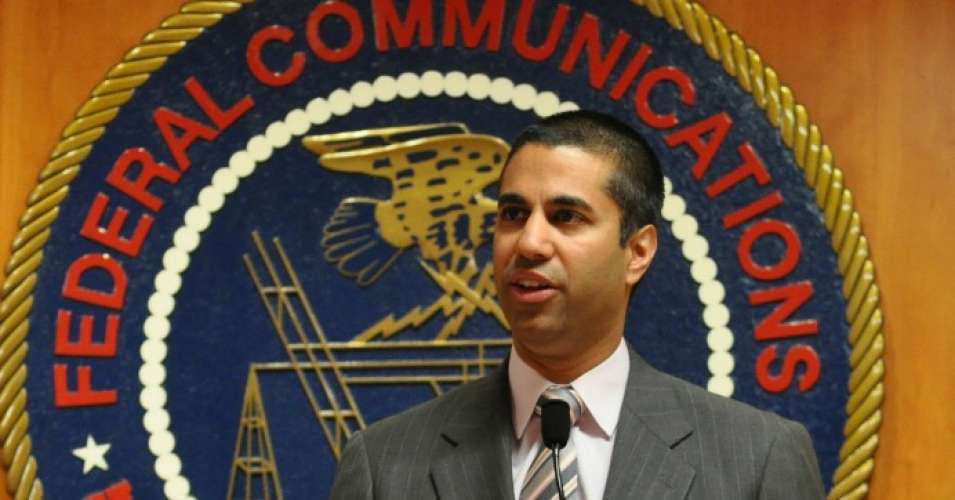 FCC Chairman Ajit Pai (Credit: Flickr)
