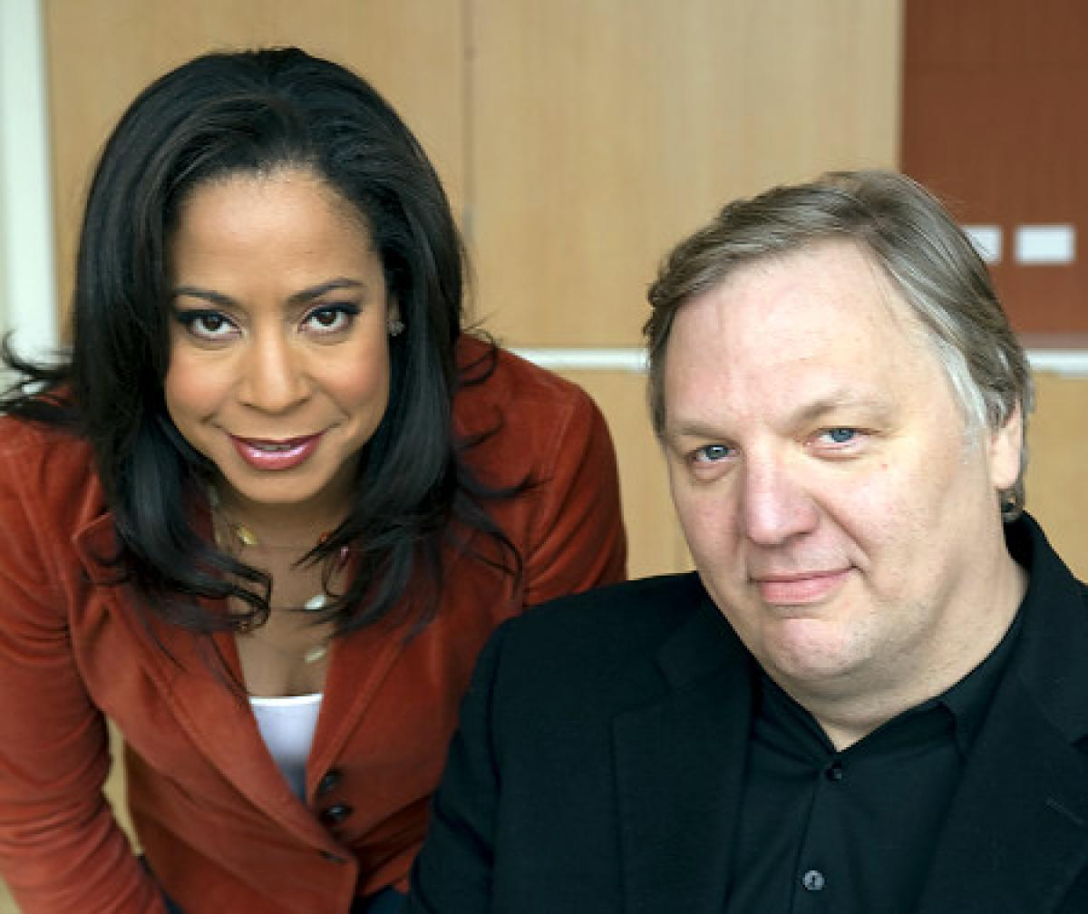 Adaora Udoji and John Hockenberry