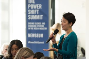 Michelle Ye Hee Lee of the Asian American Journalists Association (Credit: Newseum)
