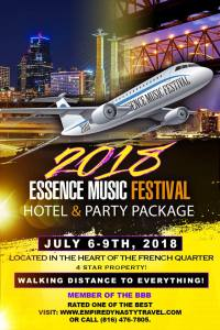 Essence is already promoting its 2018 festival.