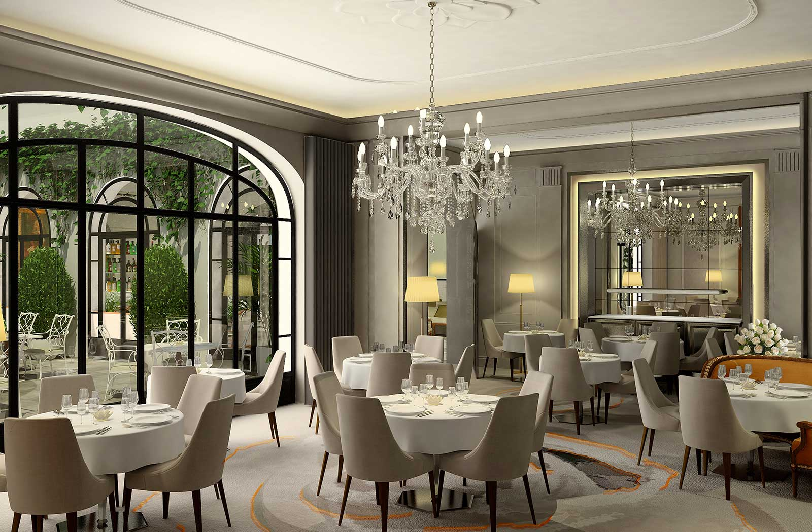 La Table Du Lancaster Hôtel Lancaster Ultra Luxury And Luxury Hotels And Gourmet