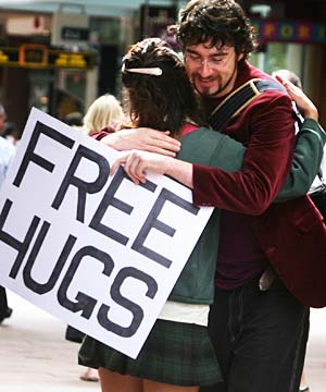 FREE HUGS SEOUL
