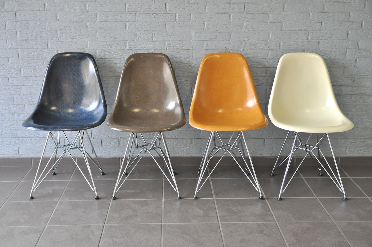 Lounge Sessel Fiberglas Journelles Maison Original Vs Replika Der Eames Plastic Chair