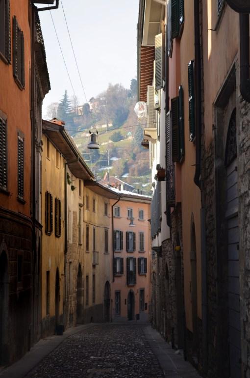 Бергамо. Старый город.