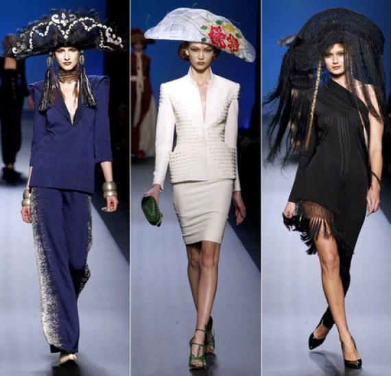 Сомбреро - это не только красивый сувенир, но и модный аксессуар. Коллекция Жан Поля Готье