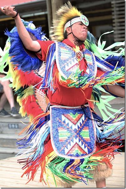 Indian Dance in Cherokee