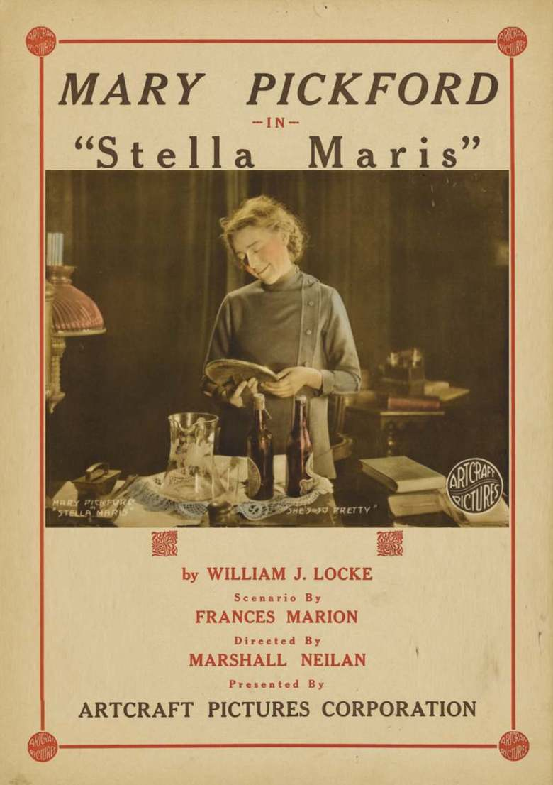 Fridays Menu Fridays With Mary Pickford: Stella Maris (1918) – Journeys