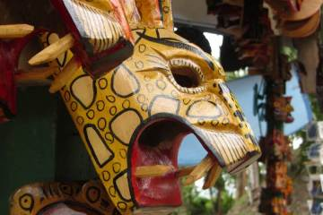Souvenir mask Belize