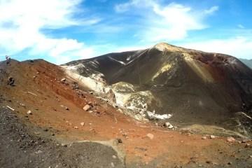Volcano boarding in Leon Nicaragua