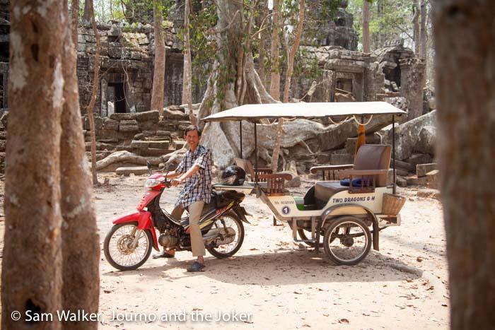 Cambodia's tuk tuks, a travel experience