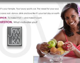 jovanka home page welcome