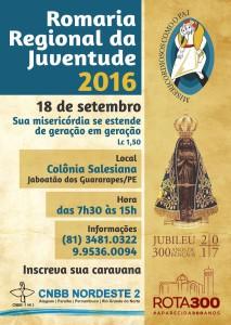 003079 CNBB - CARTAZ ROMARIA DA JUVENTUDE 2016 (4)