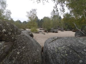 """boulders amidst the """"Sea of Sand"""""""