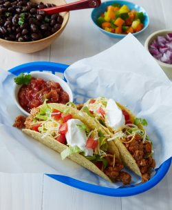 Witching Healthy Recipe From Joy Food Cures Turkey Tacos Ground Turkey Tacos Recipe Healthy Ground Turkey Tacos Vs Ground Beef