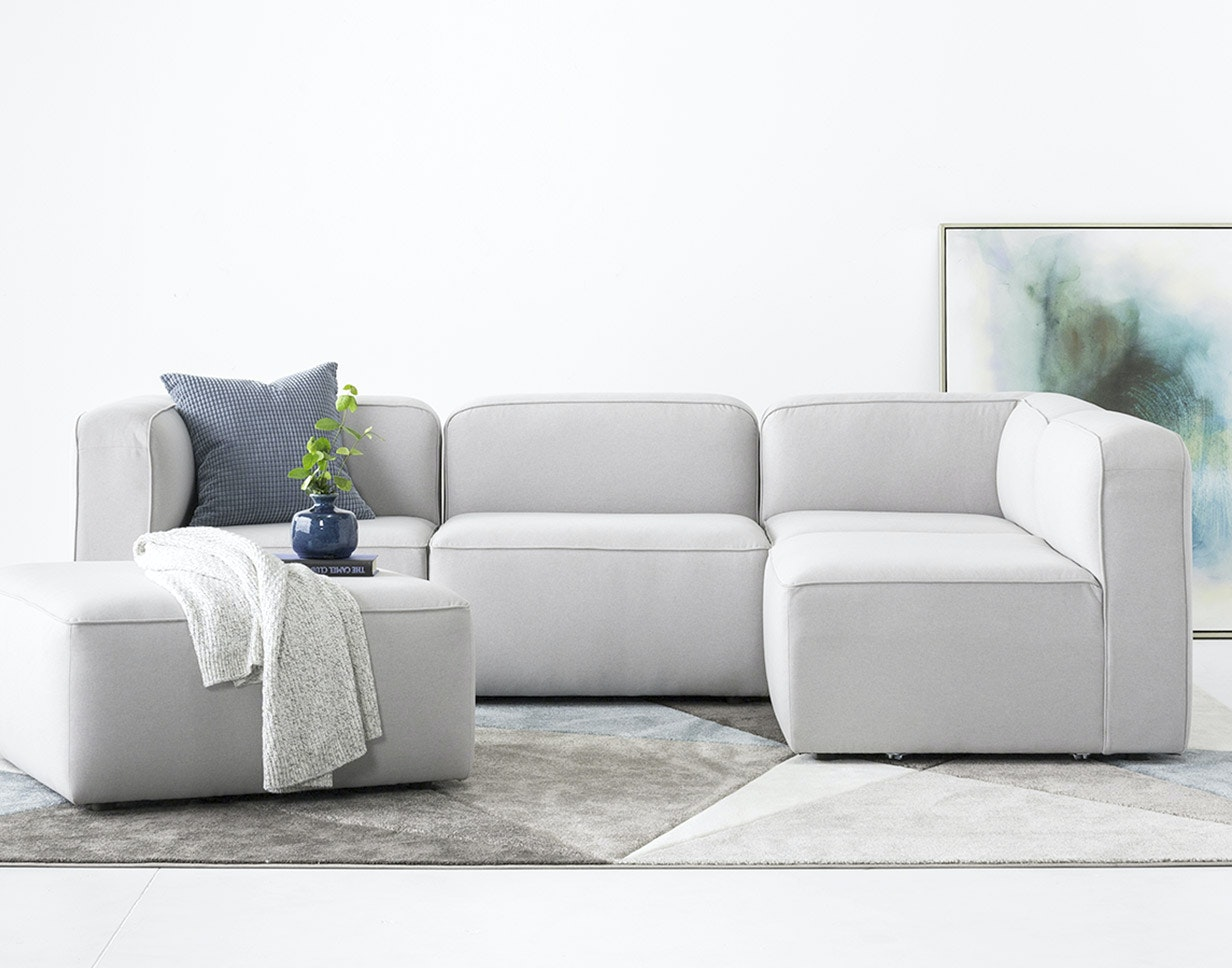 Leather Sectional Vancouver Custom Furniture And Modern Home Decor Joybird