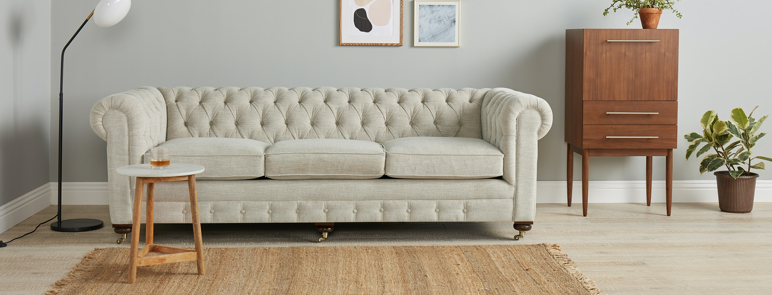 Sofa In Chesterfield Look Liam Sofa