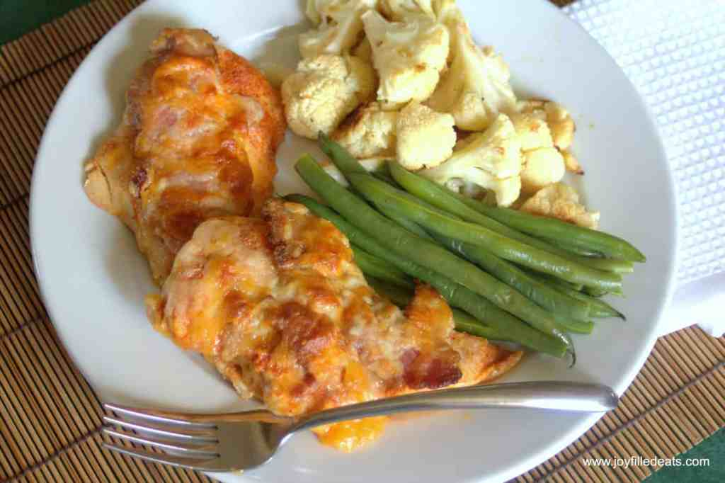 Cheesy Bacon Chicken
