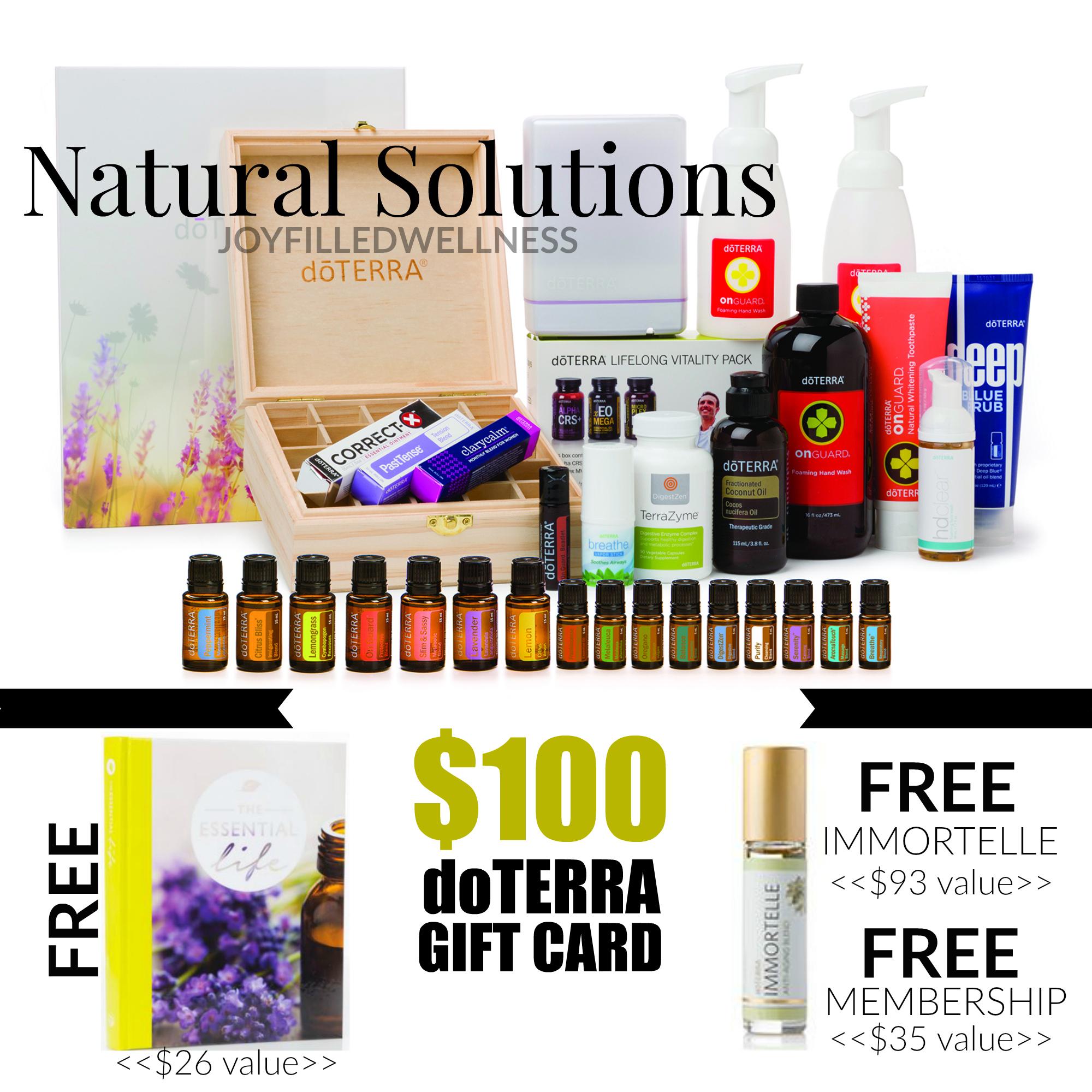 Natural Soultions Kit - January
