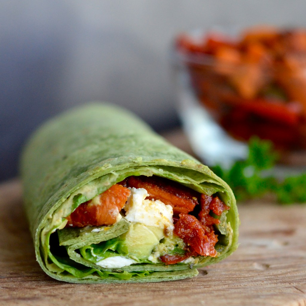This Balsamic Roasted Vegetable Wrap is truly a flavor explosion! Gluten-free and Vegan friendly!