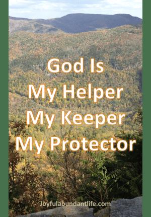 My God – Helper, Keeper, Protector