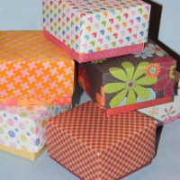How to Make a Small Gift Box with Lid-Make a Taller Bottom to Show Off Cute Paper