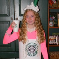 Lily Latte - Homemade Starbucks Costume