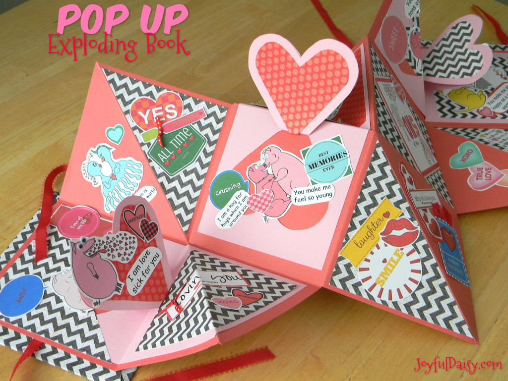 Pop Up Book Cover How To Make An Exploding Book With Pop Ups Joyful Daisy