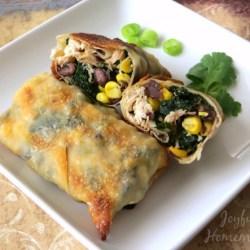 Southwestern-Chicken-Egg-Rolls