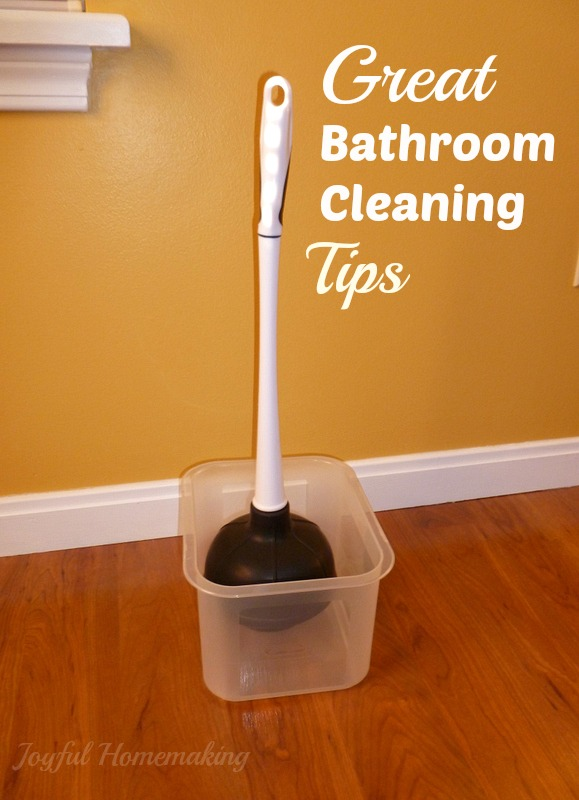 Bathroom cleaning tips for Bathroom cleaning techniques