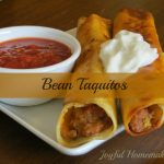 Crispy Bean Burritos (Taquitos)