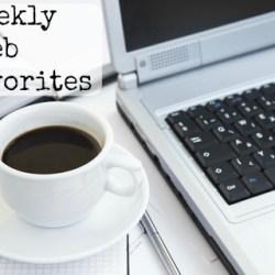 weekly web favorites