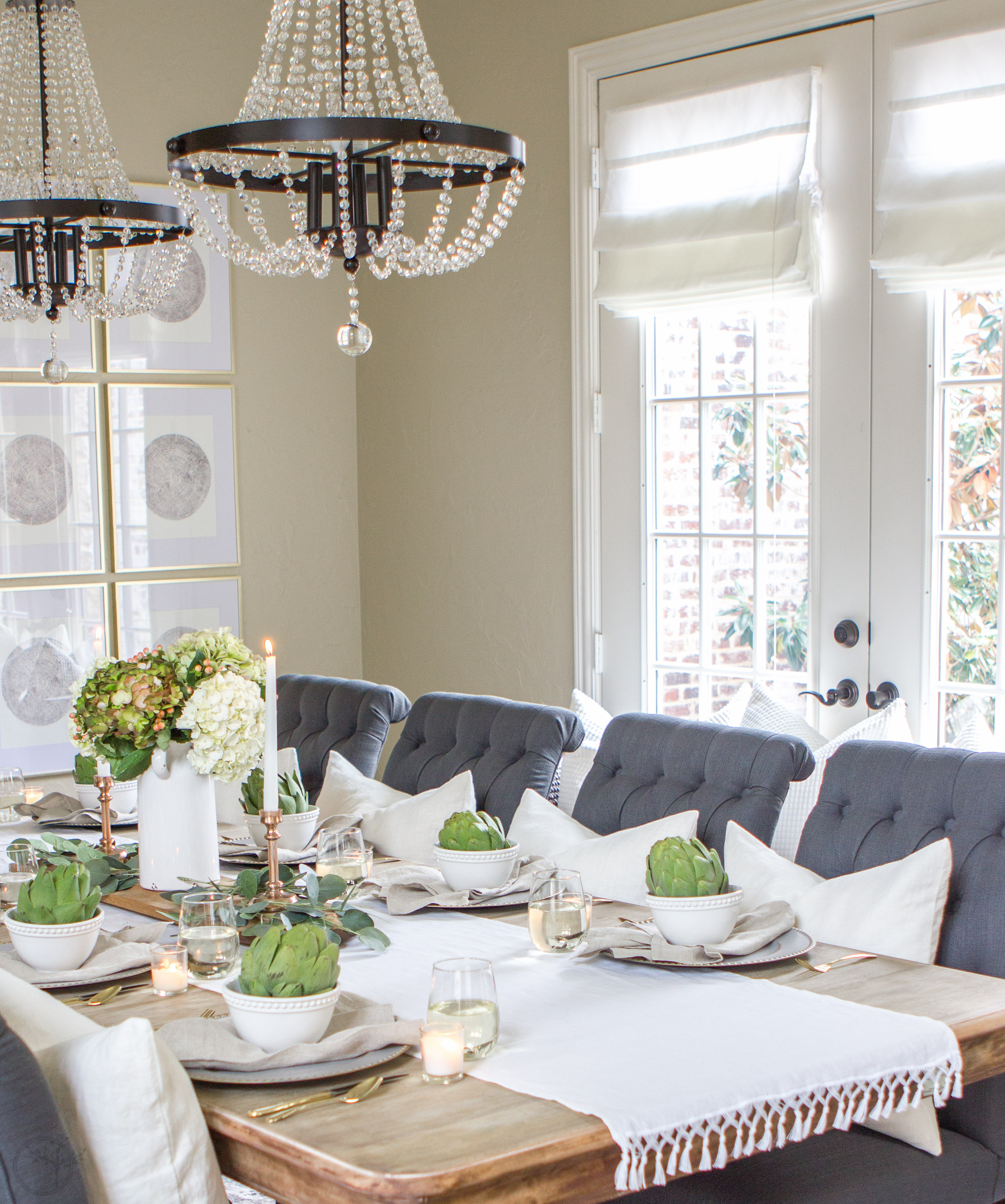 Dining Room Makeover Dining Room Makeover 43 Simple Thanksgiving Tablescape