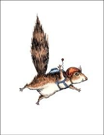Skydiver Squirrel