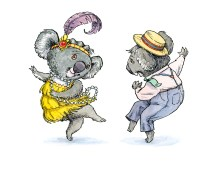Charleston Koalas, private comimission