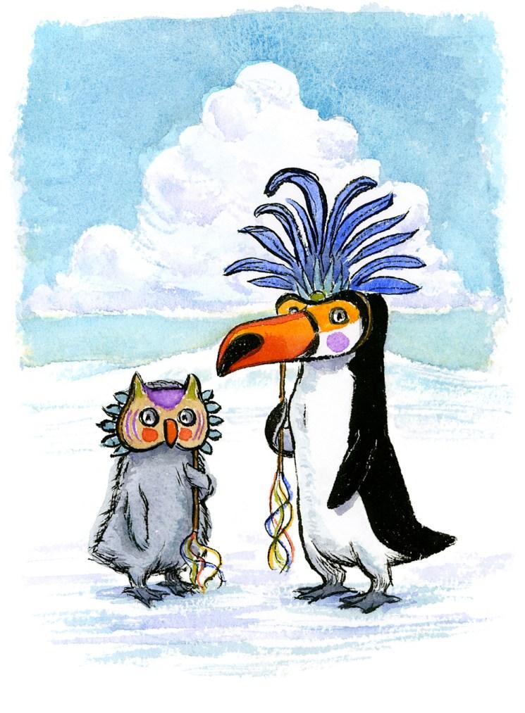 masquerade-penguins-lowrez