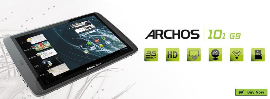 The ARCHOS 101 G9