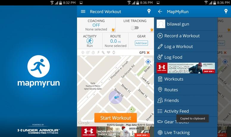 Map My Run