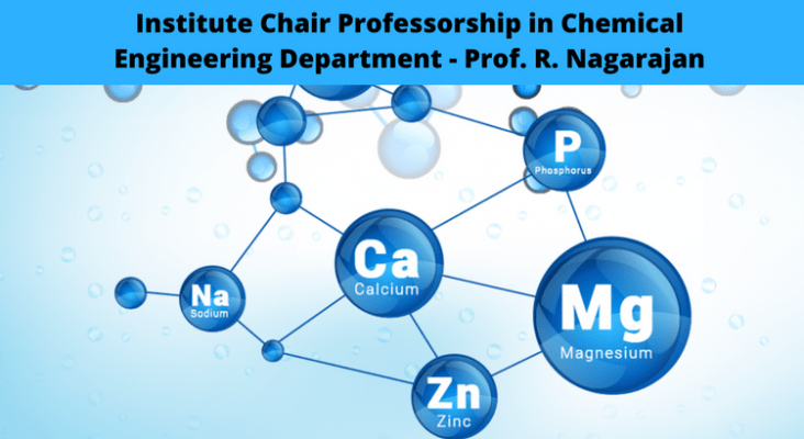 Alumni Community Chair In Chemical Engineering Dept Prof