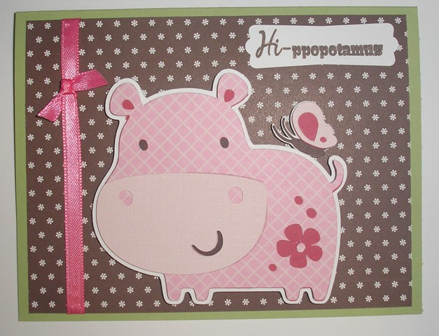 Featured Designer – Create a Critter Hippo Card Using Lots of Pun Stamp Set
