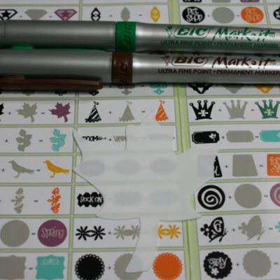 Shrink Film & Wire Candlestick Charm + 6 BIC MARKER SETS GIVE AWAY