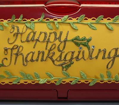 Happy Thanksgiving Removable Post It Sign – Cricut Decor