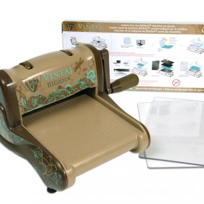 Sizzix Vintaj Big Kick Machine Summer CHA 2011