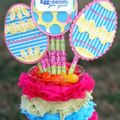 Chipboard Easter Egg Teacher Gift