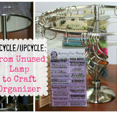 Upcycle Lamps to Make Your Own Clip It Up Organizer