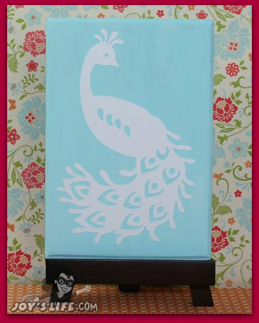 Creative Cricut And Vinyl Projects On Pinterest: Cricut French Manor Vinyl Peacock Home Decor