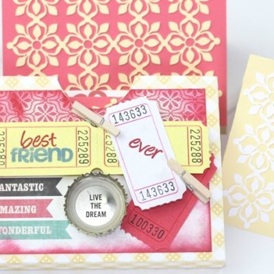 Best Friend Ever Stationary Set – Lori Whitlock Design Team Post