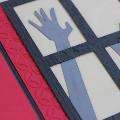 Living Dead Gate Fold Zombie Card – Cricut A Frightful Affair